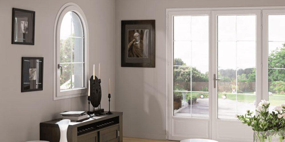 Formes et types d'ouverture fenêtres et porte-fenêtre