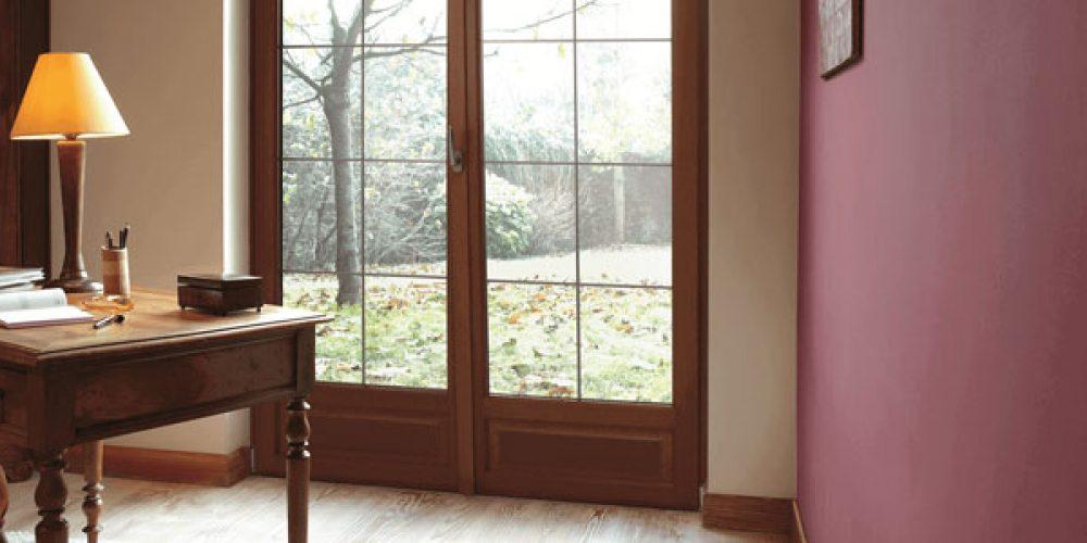 Le vitrage de la porte fenêtre, sécurité et isolation avant tout