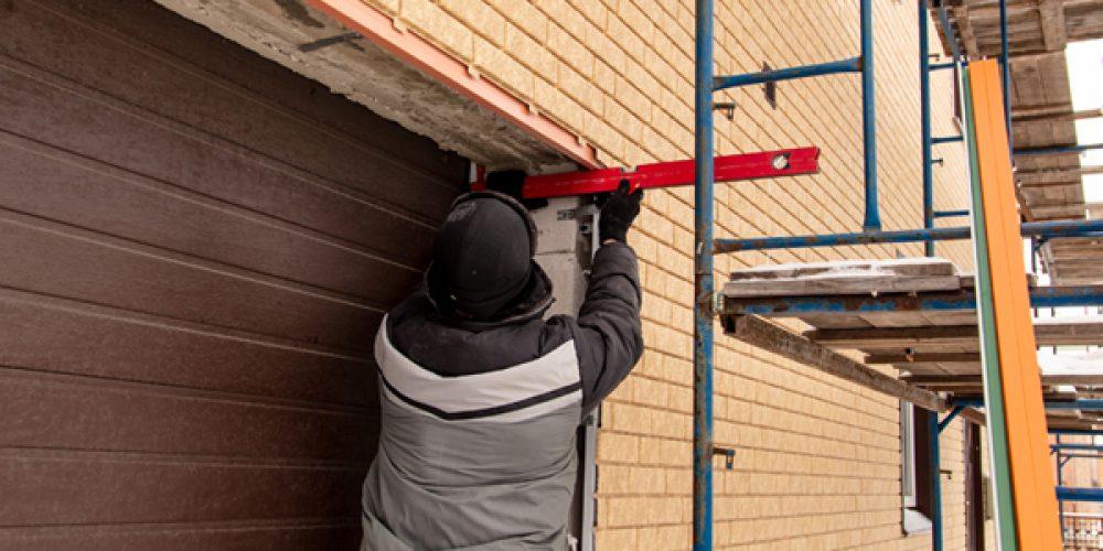 Installations de portes de garage en Alsace